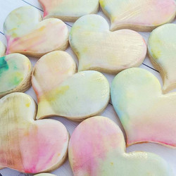 Watercolor and gold hearts for the Austin Bakes Hurricane Harvey fundraiser.jpg