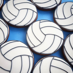 We're the snack family this week at volleyball, so you know what that means! Chocolate volleyball co