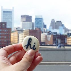 I really should have made a cookie that said Bye. Spent most of my week in Boston for a work confere