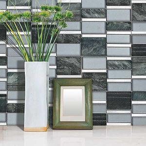 Porcelain an Glass Tile for Your Backslpash
