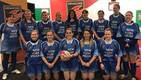 Announcing the new female 'Dragons ALLSTARS Hearts' touch rugby team from Sponsor Our Club!