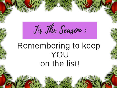 Tis The Season: Remembering To Keep You On The Holiday List!
