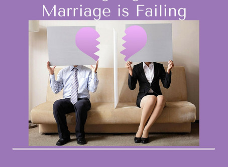 11 Warning Signs Your Marriage Is Failing