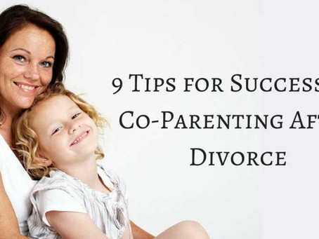 9 Tips To Successful Co-Parenting After Divorce