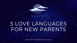 5 Love Languages for New Parents