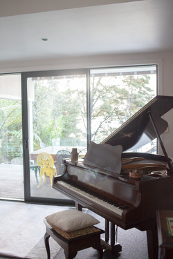 Feel free to play the piano!