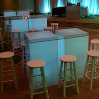 Lighted Tables & Bars