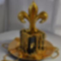 Mini Fleur de Lis Centerpiece
