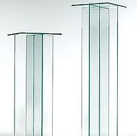 Glass Pedestals