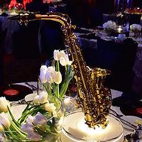Saxophone Centerpiece