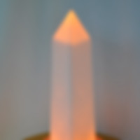 Lighted Obelisk Centerpiece