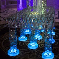 Acrylic Tabletop Lighted Event Decor