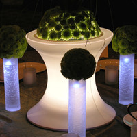 Lighted Micro Mini Tower Centerpiece