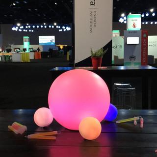Glow Ball Table Centerpiece