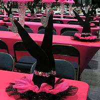 Can Can Legs Centerpiece