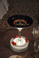 Mini Roulette Wheel Centerpiece