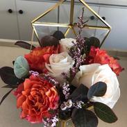 Custom terrarium floral design