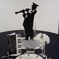Jazz Silhouette Centerpiece