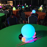 Glow Ball Table Centerpieces
