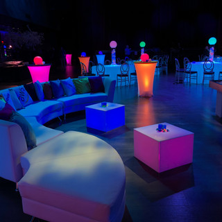 Glow Party with Modular furniture