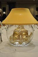 LampLite with Venetian Masks