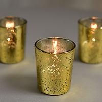 Mercury glass votives - gold.jpg