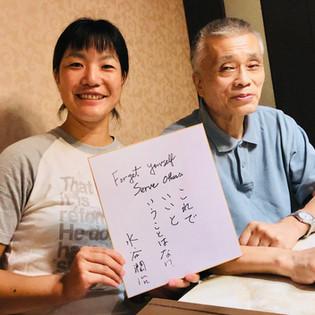 水谷先生 Mr.Junji Mizutani