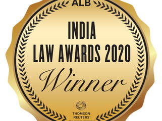 "Collyer Law wins ""India Practice - Asian Law Firm of the Year"" at the ALB India Law Awards"