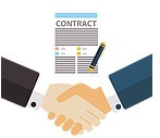 Advising electronic exchange on corporate and BAU contracts