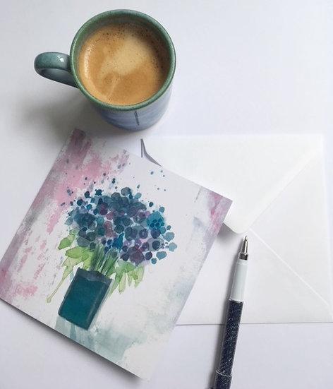 Art Card-We Drank So Much Tea