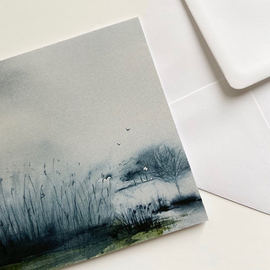 Misty Rain, Strangford Card