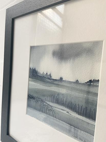 'It's Wet Rain' original painting
