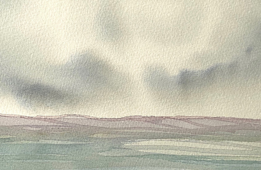Delicate Beauty, Glenveagh, Donegal. Watercolour painting