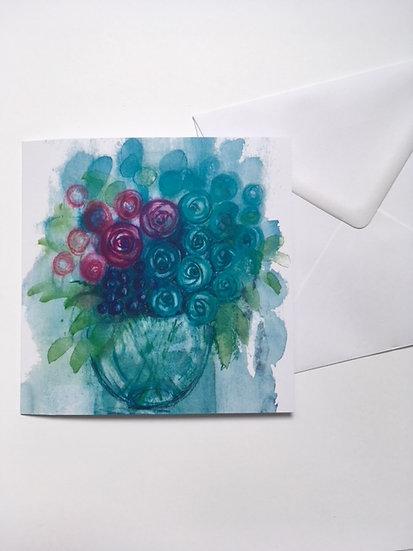 Art Card- We Picked Raspberries