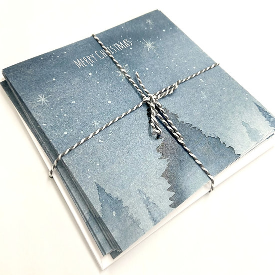 Christmas Cards -Winter Tree