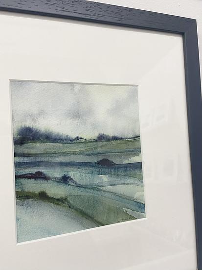 'Wet Land' original painting