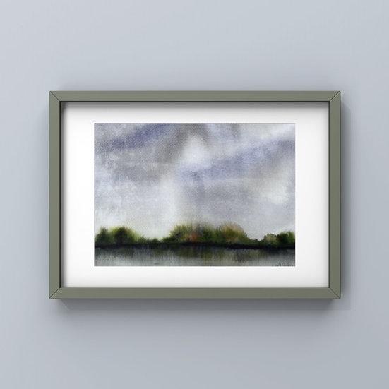 Raining on the Lake, Hillsborough