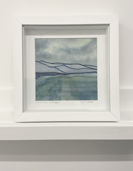 'Grey Shades in Donegal' Original Painting