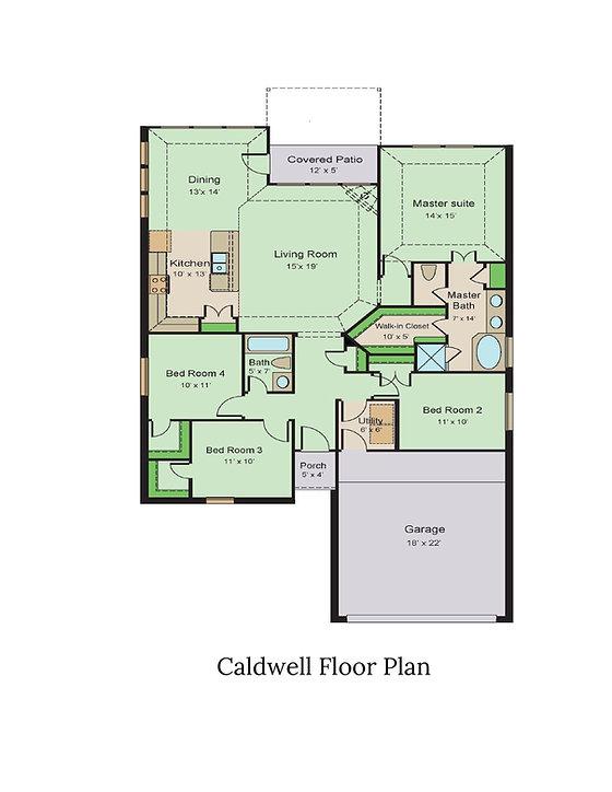 Caldwell Floor Plan