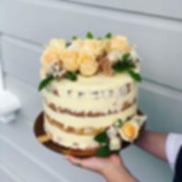 Wedding cake for Amanda and Dane✨__Did y
