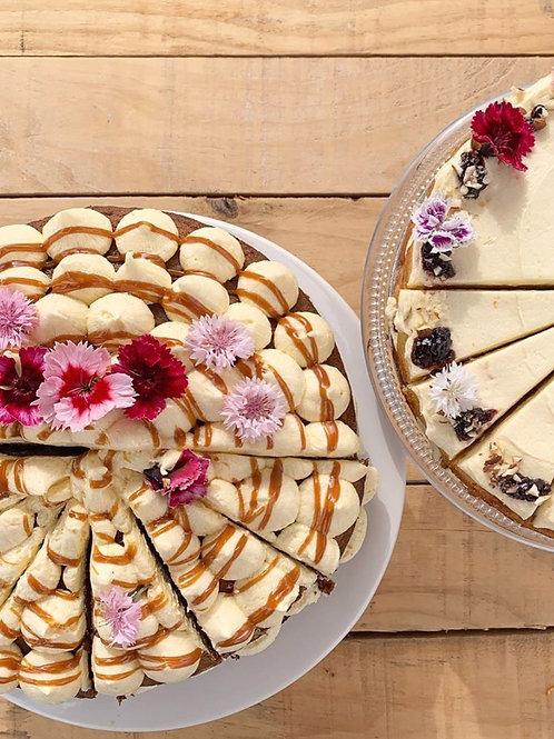Banoffee, Vanilla & Caramel Cake