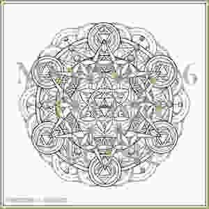 Mandala 36 | Tattoo Flash Download | Heart Chakra