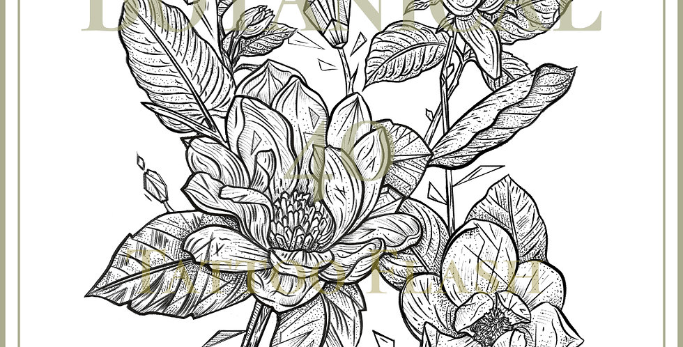 BOTANICAL 40 | Magnolia Stem
