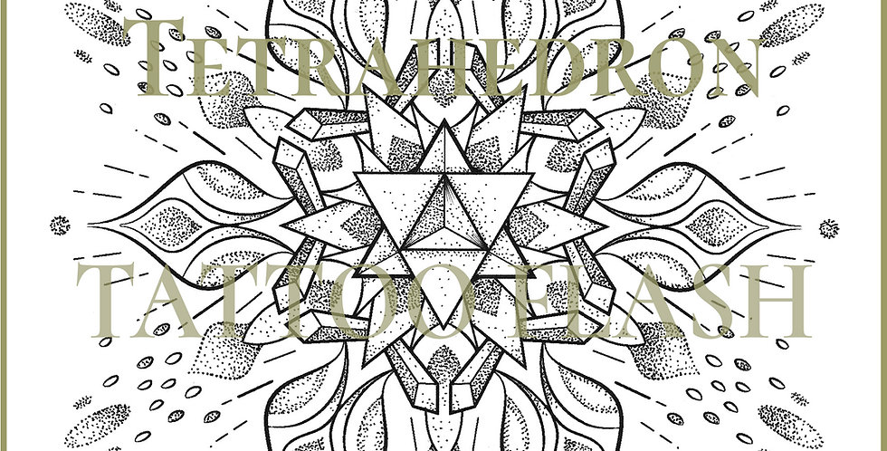 ORIGINAL ART | Lily Tetrahedron