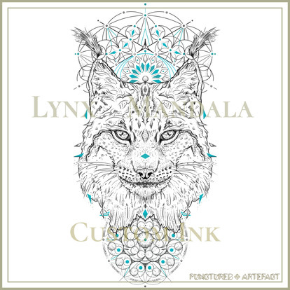 CUSTOM INK | Lynx Mandala