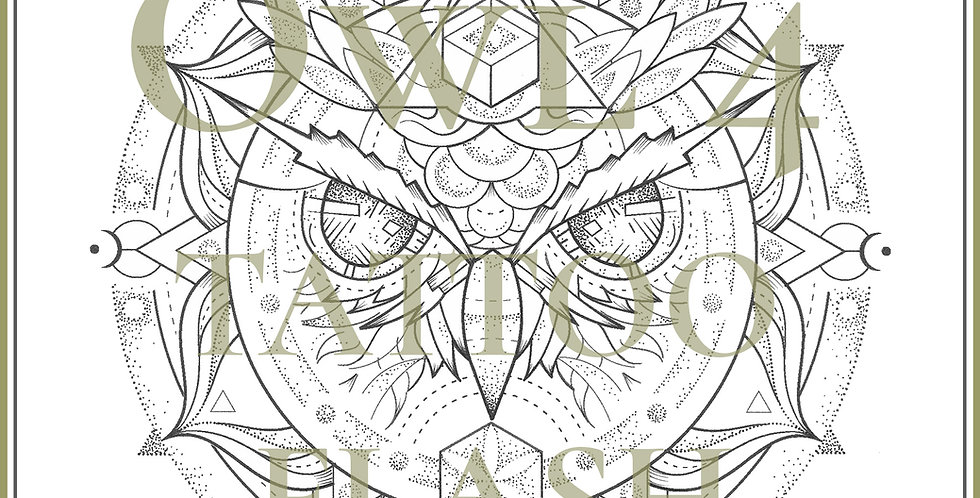 OWL 4   Moon Mandala