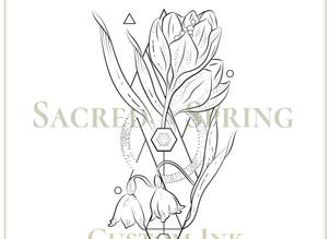 CUSTOM INK   Sacred Spring