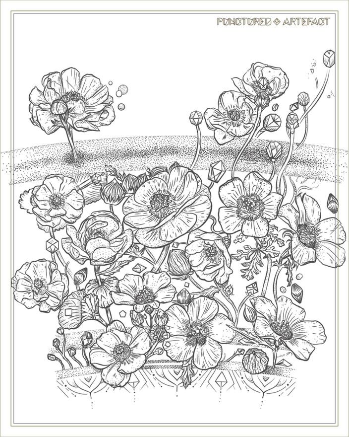 Botanical Bands | Tattoo Design