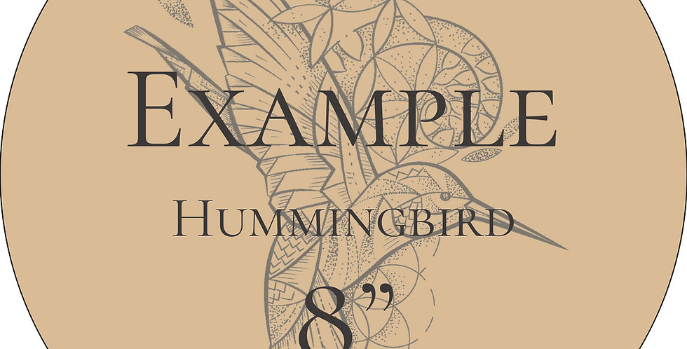 LEATHER | Hummingbird | Pre-Order