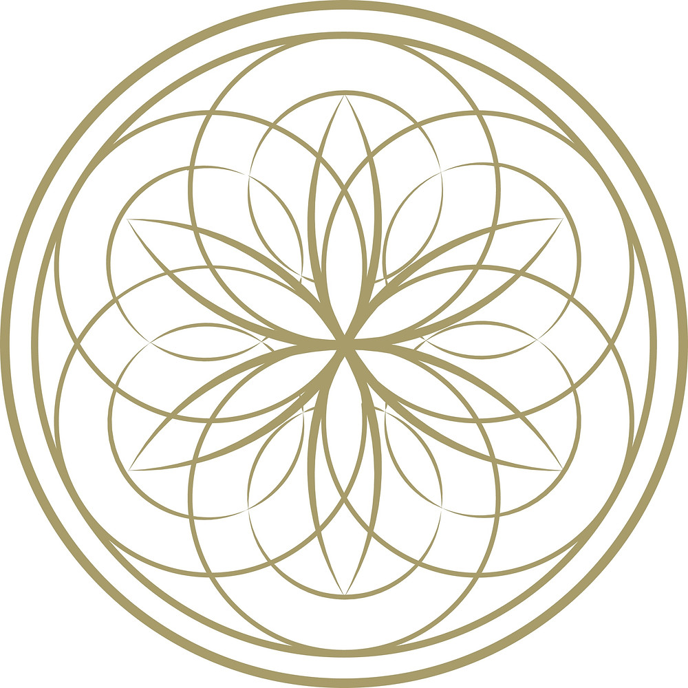 Flower Of Life Icon | Geometric Nature Art | Vector | Tattoo Illustration